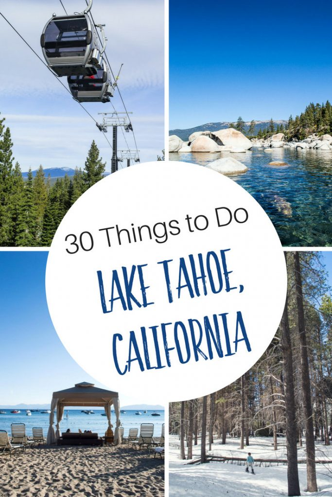 30 Things to Do in Lake Tahoe