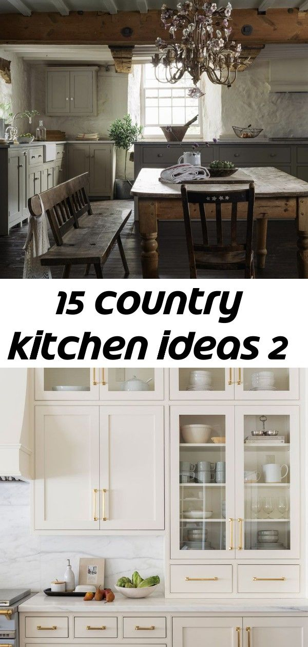 15 country kitchen ideas 2 #swisscoffeebenjaminmoore