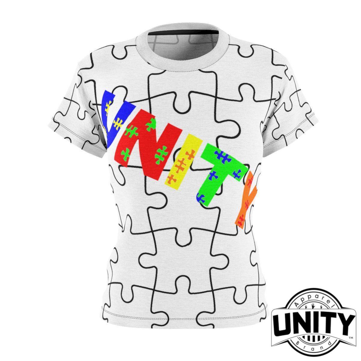 a5c6d6c9675 Women's Fashion Autism awareness clothing Women's Top Designed For Autism  Awareness charity. Unity Apparel Brand