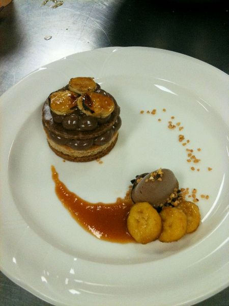 Chocolate Plated Dessert