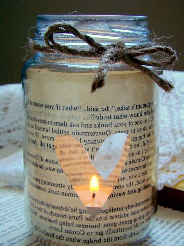 20 handgemachte tolle Ideen für Kerzen Deko | diy | Pinterest ...
