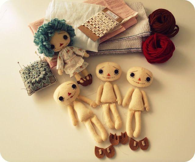 Gingermelon Dolls: Raggedys