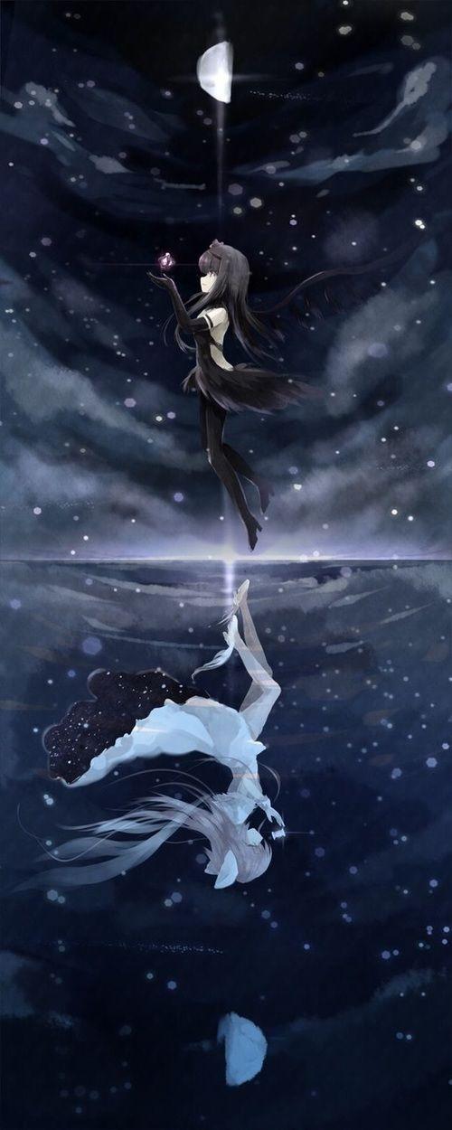 Akemi and Madoka uploaded by Savannah Paige on We Heart It