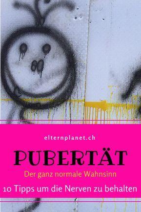 Pubertät - der ganz normale Wahnsinn
