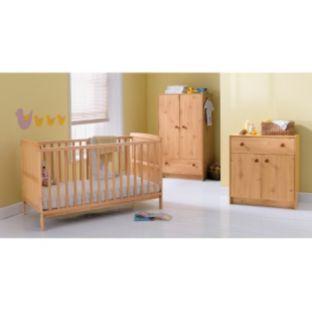buy babystart avalon nursery furniture suite pine at. Black Bedroom Furniture Sets. Home Design Ideas