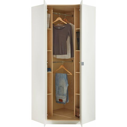 Armoire penderie du0027angle 2 portes Bedrooms and Studio