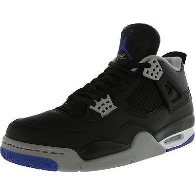 buy popular b0bbf 29268 Men 158971  Nike Men S Air Jordan 4 Retro Ankle-High Canvas Basketball Shoe