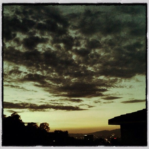 A summer sunset from witterphoto's home in LA...
