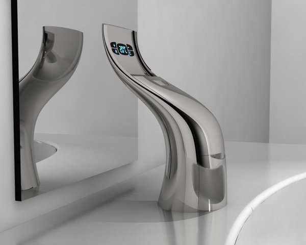 Hi-Tech Sprouting Taps | Faucet, Taps and Futuristic design