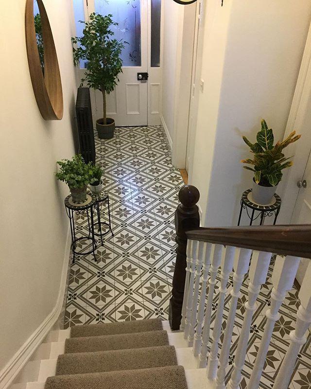 Kitchen And Hallway Flooring: Montpelier Square Wall & Floor Tiles 45x45cm