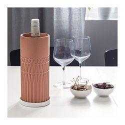 ANVÄNDBAR Flaschenkühler mit Untersetzer - IKEA