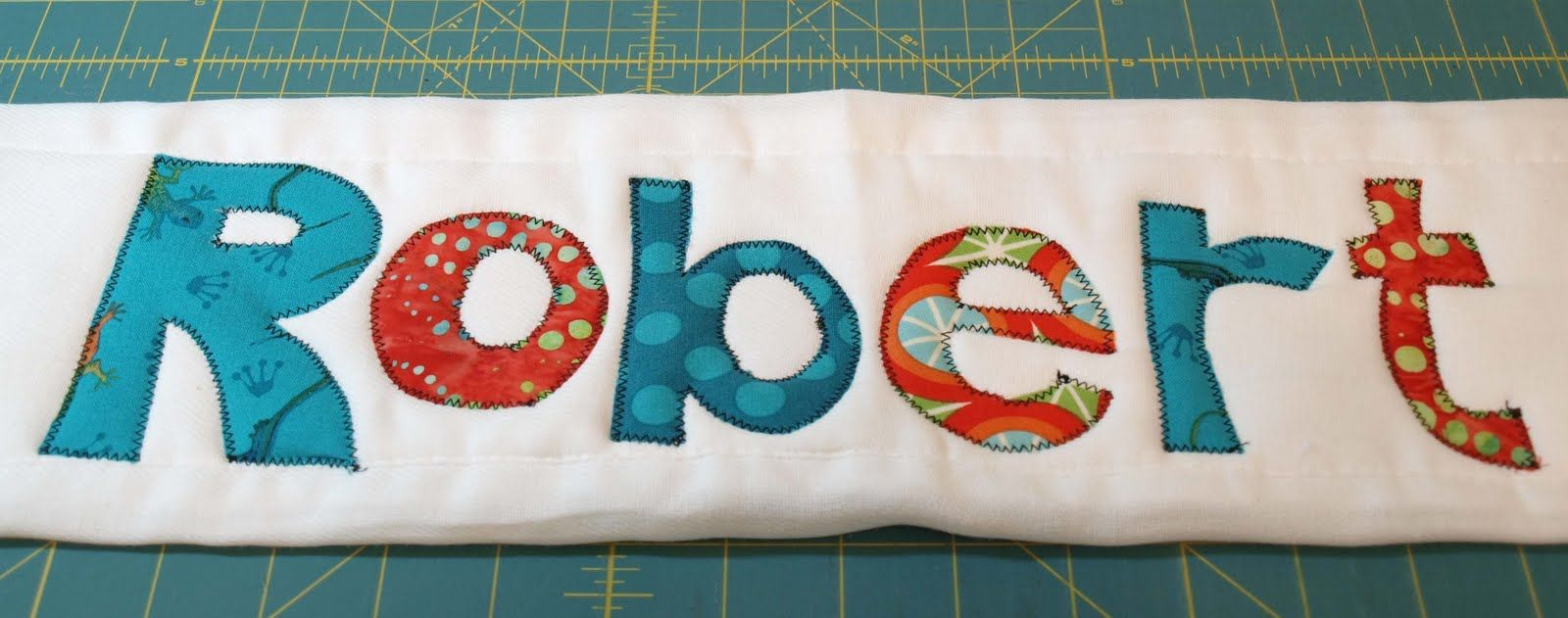 Burpcloth applique tutorial the seasoned homemaker lettering and