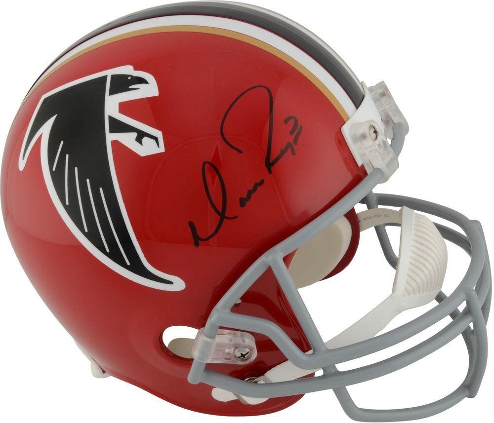 Matt Ryan Atlanta Falcons Autographed Red Throwback Riddell Replica Helmet Football Helmets Atlanta Falcons Football Helmets For Sale