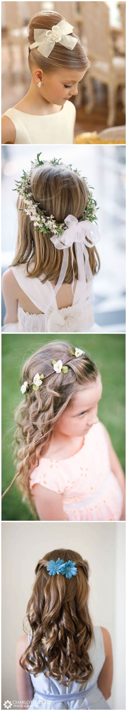 38 super cute little girl hairstyles for wedding | passion 4