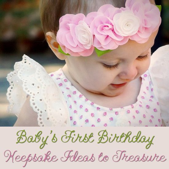 Beautiful Selection Of Babys First Birthday Keepsakes To Treasure Gifts Birthdays