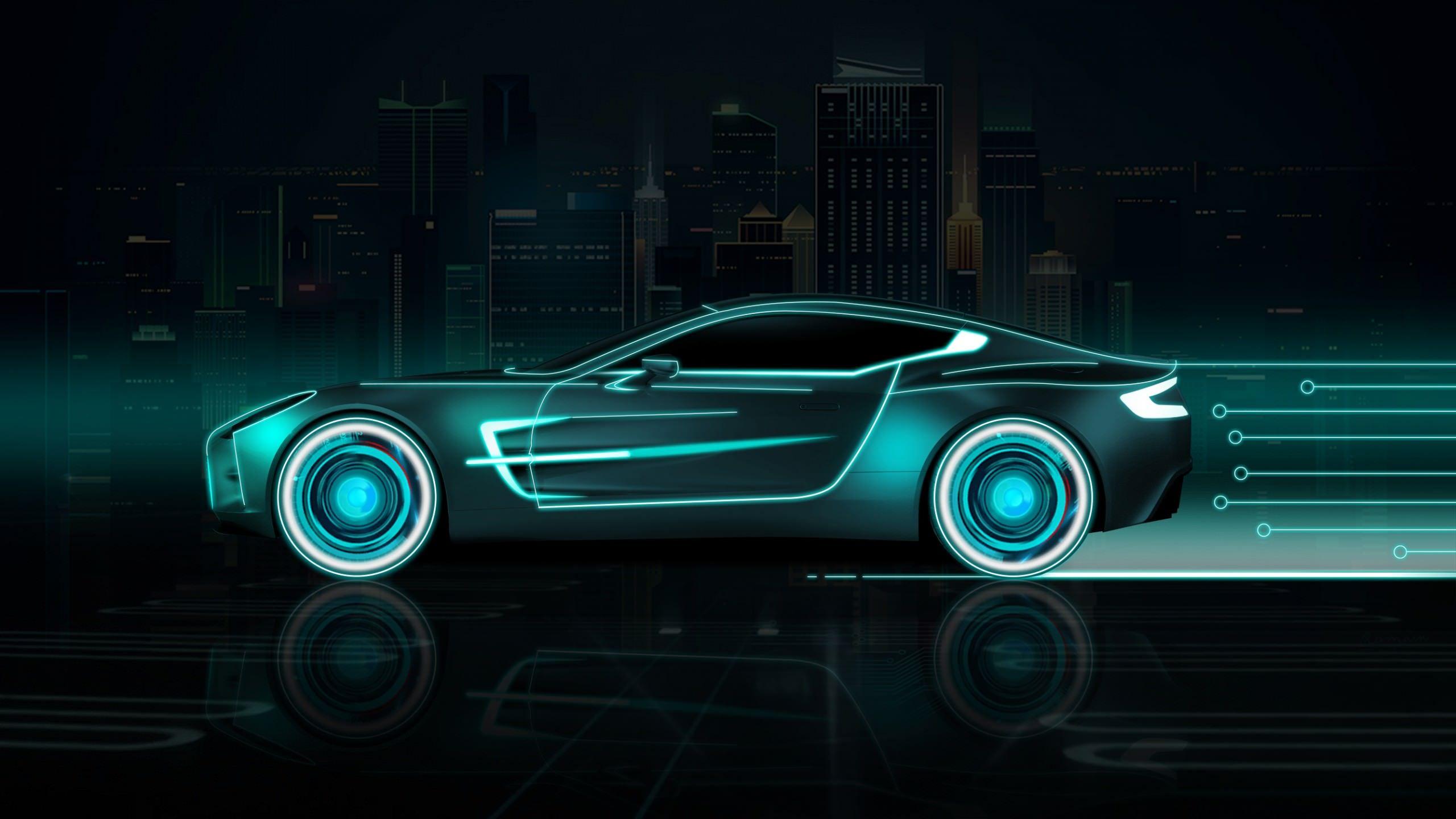 Neon Sports Car 2560x1440 In 2020 Sports Car Wallpaper Car Wallpapers Car