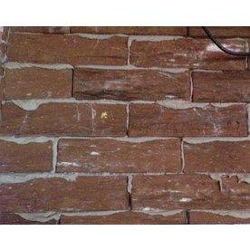 Split mesa beige individual brick veneer just apply z for Glue on brick veneer