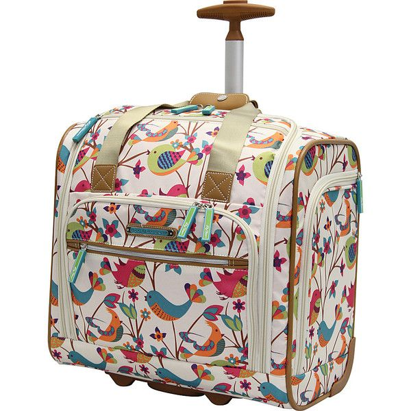 Lily Bloom Under The Seat Bag Tweety Twig Carry On Luggage 64 Liked On Polyvore Featuring Bags Luggage Small Ro Lily Bloom Lily Bloom Bags Ebags Com