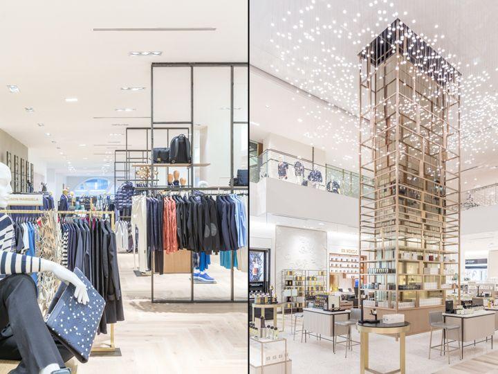 Saks Fifth Avenue By Frch Design Worldwide Saks Fifth Avenue Team Toronto Canada Retail Design Blog