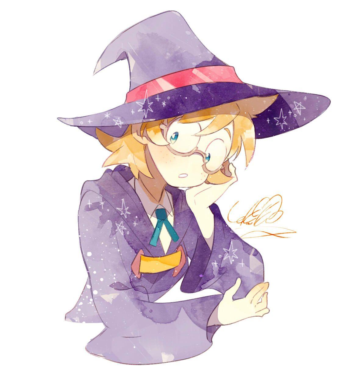Little Witch Academia My little witch academia, Witch