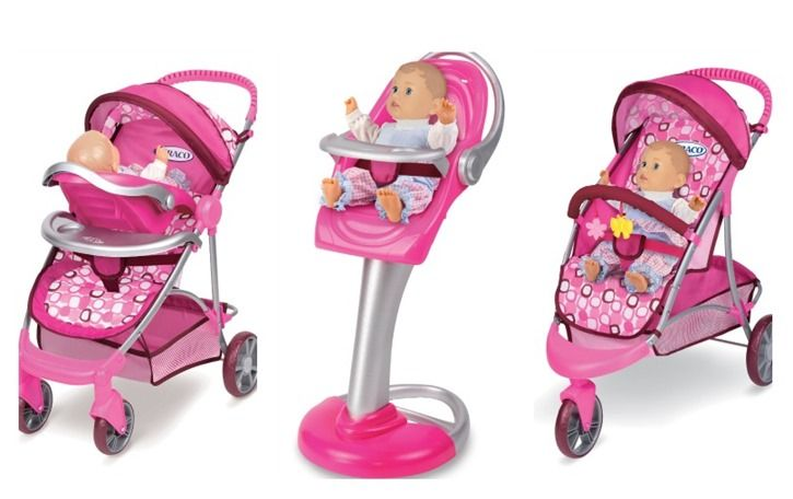 Tollytots Toy Graco Stroller And High Chair High Chairs