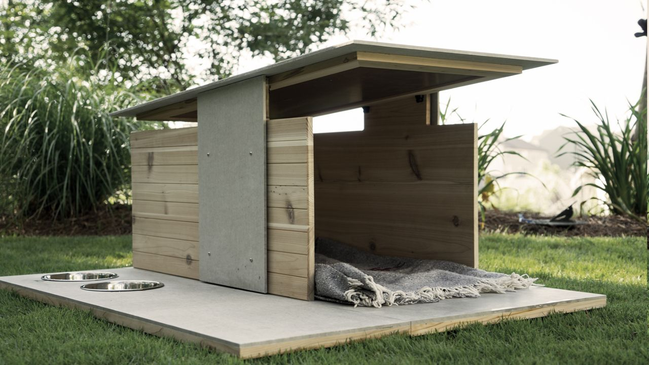 Puphaus: A Modern Dog House from Pyramd Design Co. | Dog ...