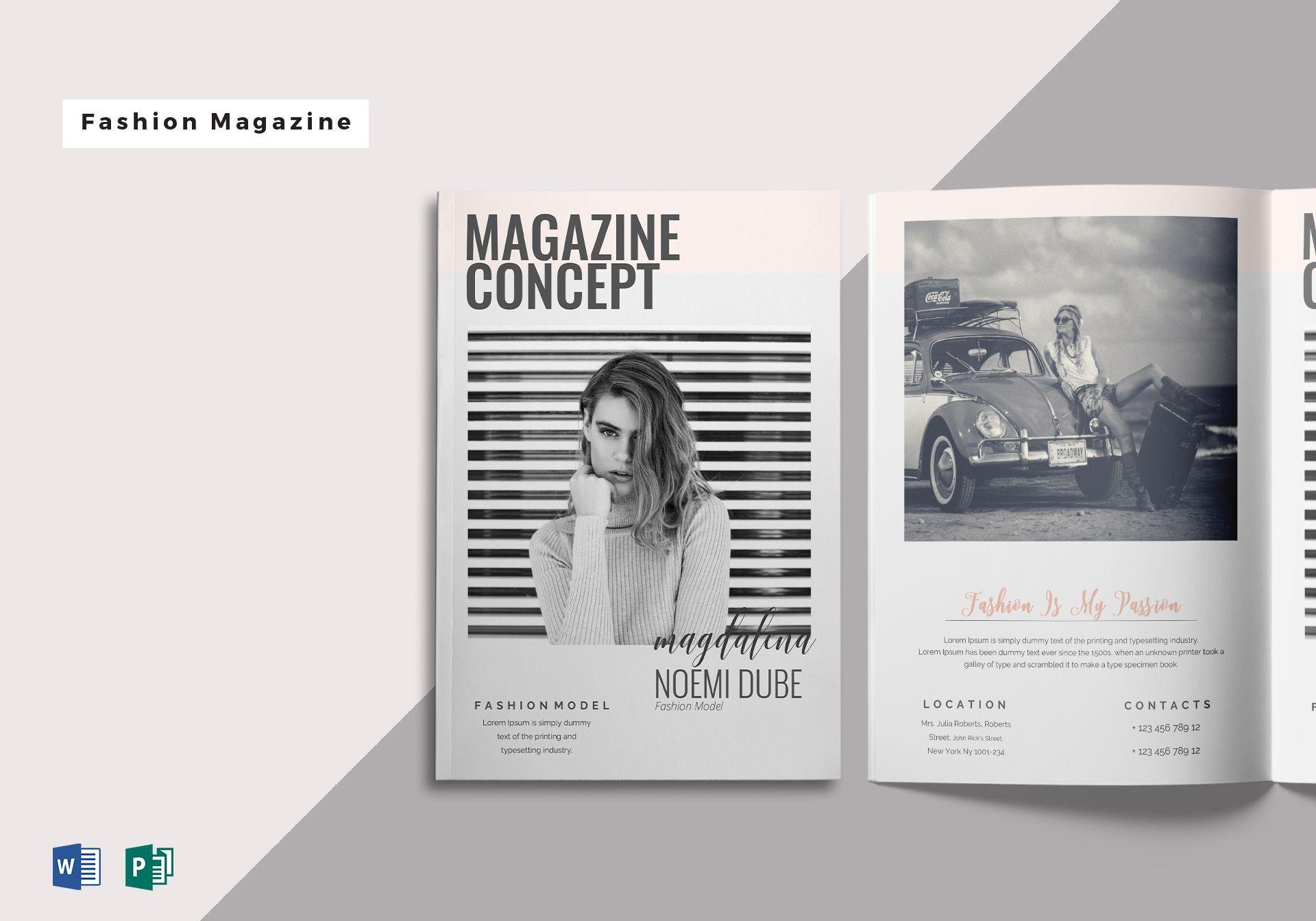 Microsoft Publisher Magazine Template Unique Fabulous With