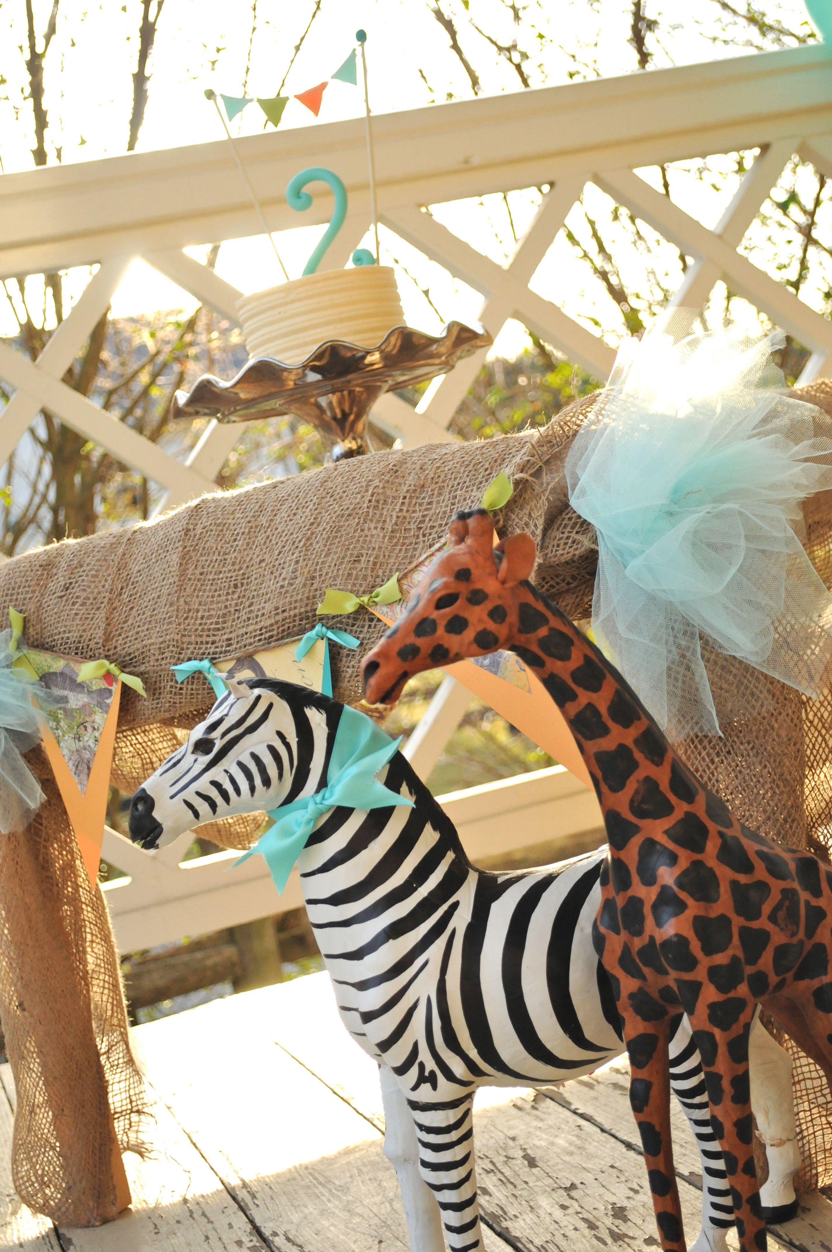 Vintage Safari Birthday Party