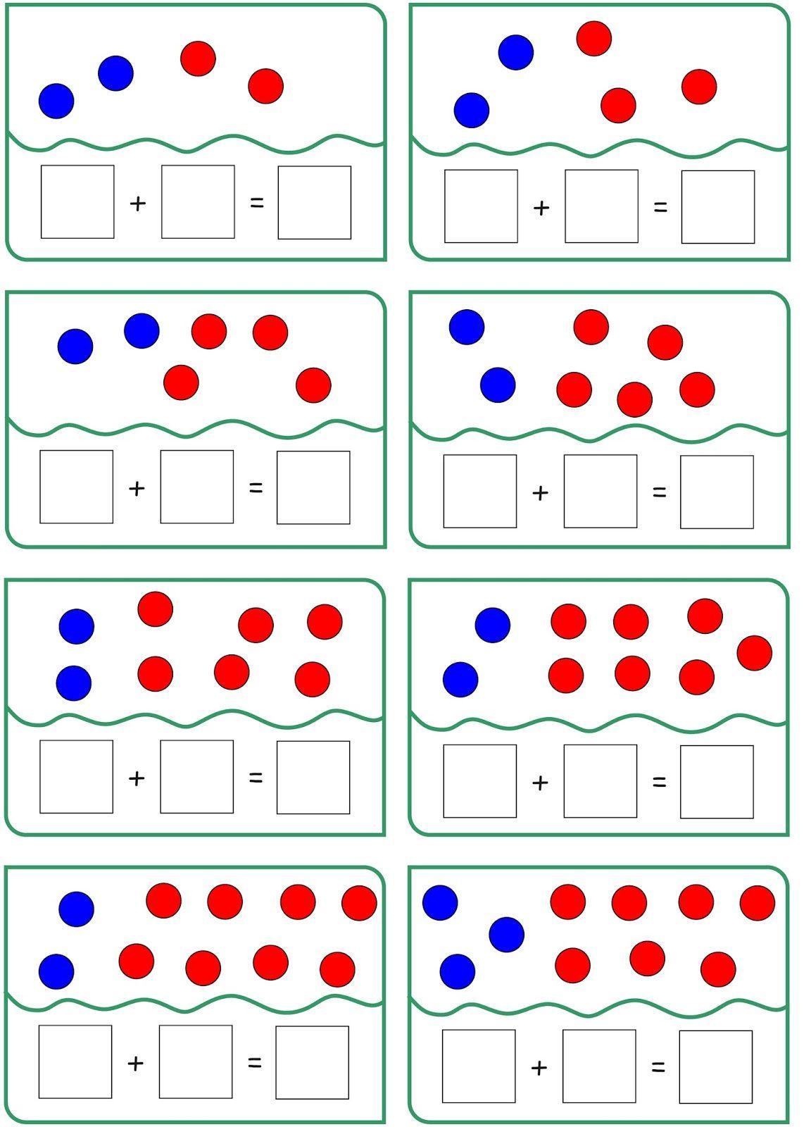 Mengenbilder und ihre Zahlensätze