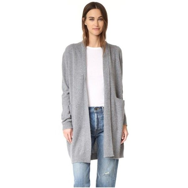 Vince Cashmere Sweater Coat (10,270 MXN) ❤ liked on Polyvore ...