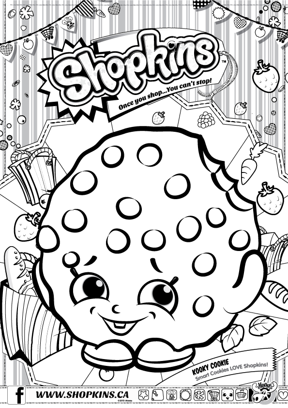Shopkins | Shopkins colouring pages, Shopkin coloring ...