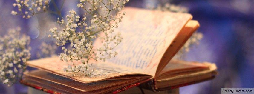 Flowers Book Bokeh Facebook Cover Book Wallpaper Book