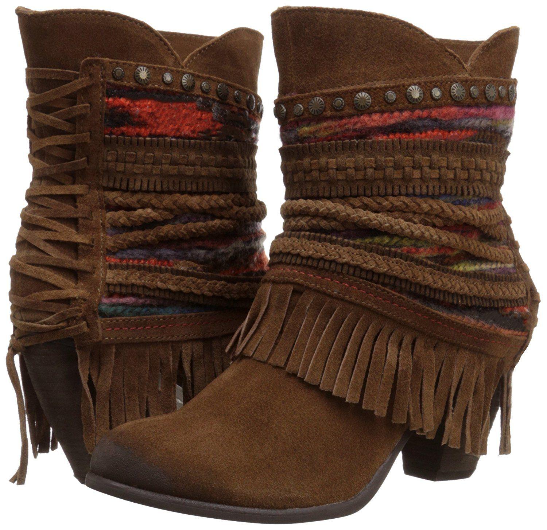 Amazon.com | Naughty Monkey Women's Poncho Boot | Ankle & Bootie