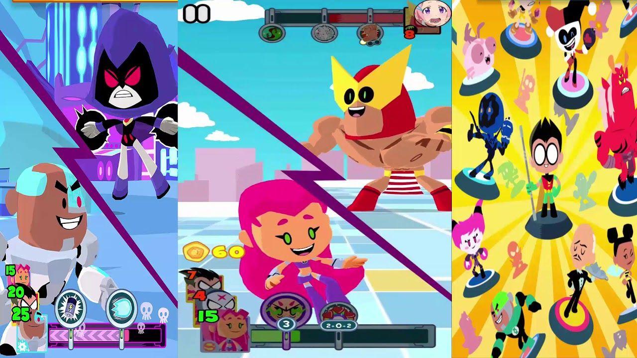 Teeny Titans Cartoon Network (iOS Android) Walkthrough