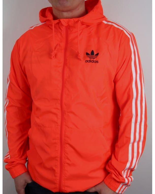 4fb407cfc Adidas Originals Itasca Windbreaker Solar Red   Clothing & Apparel ...