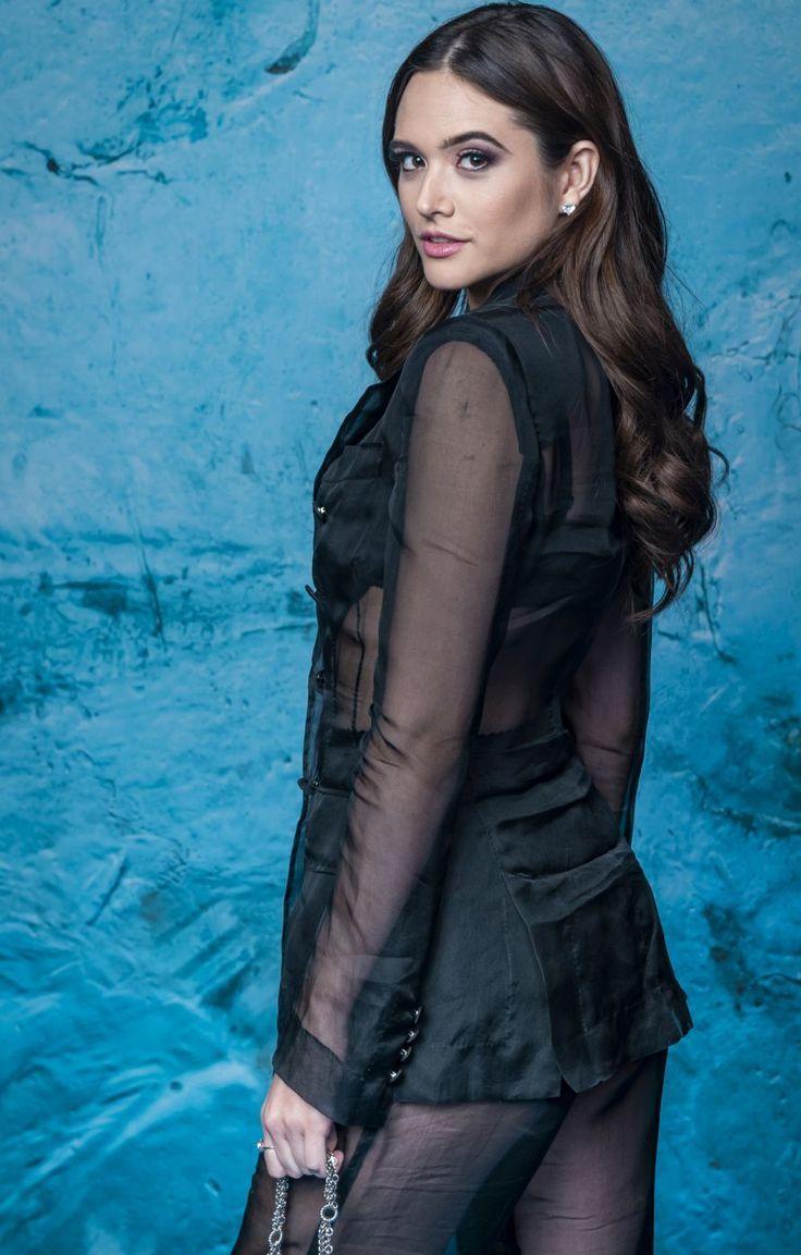 Juliana Paiva wearing Dolce&Gabbana at the launching party
