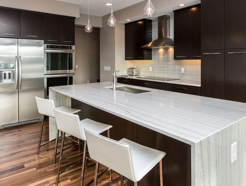 Quartz Vs Granite Countertops For Kitchen Ideas: White Quartz Vs Granite  Countertops And Range Hoods