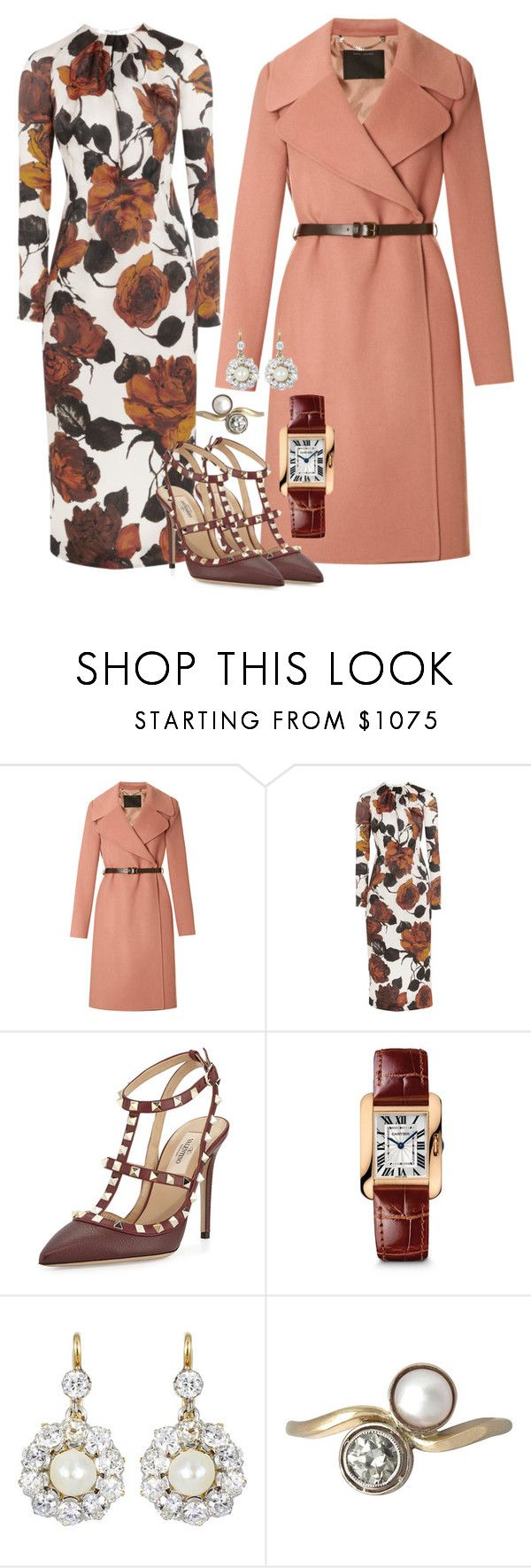 """""""Untitled #197"""" by hamilton-court ❤ liked on Polyvore featuring Marc Jacobs, Emilia Wickstead, Valentino and Cartier"""