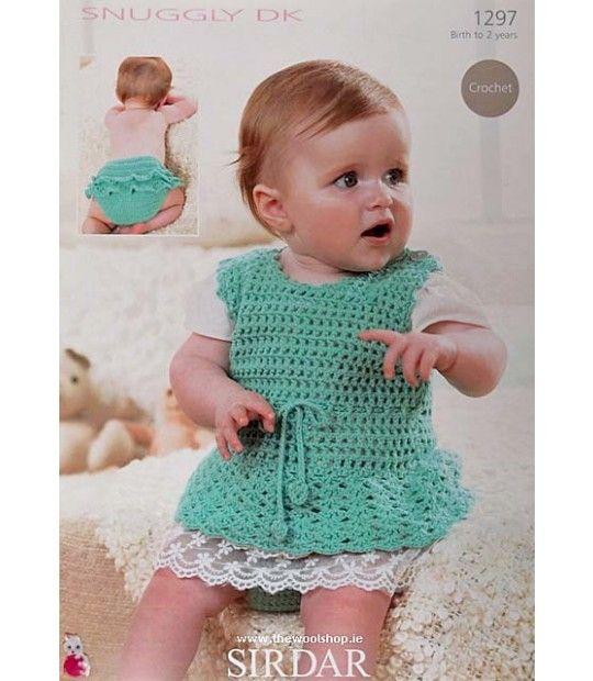 Double Knitting Crochet Pattern Sirdar 1297 Kcoc