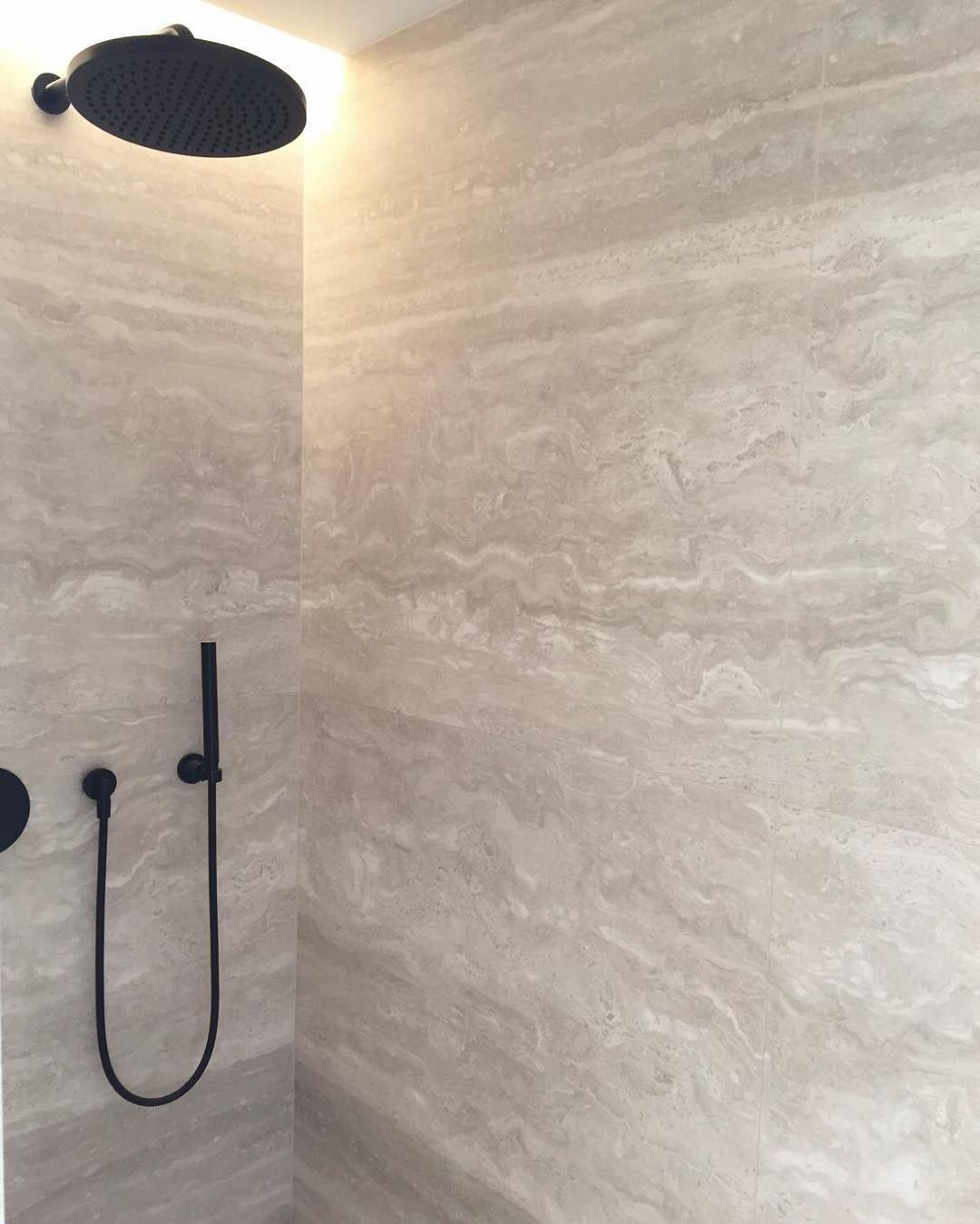 Our Bathroom Shower Tile. Travertine ...