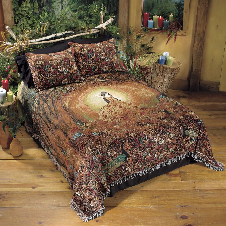 Summers Cauldron Bedspread - New Age, Spiritual Gifts ...