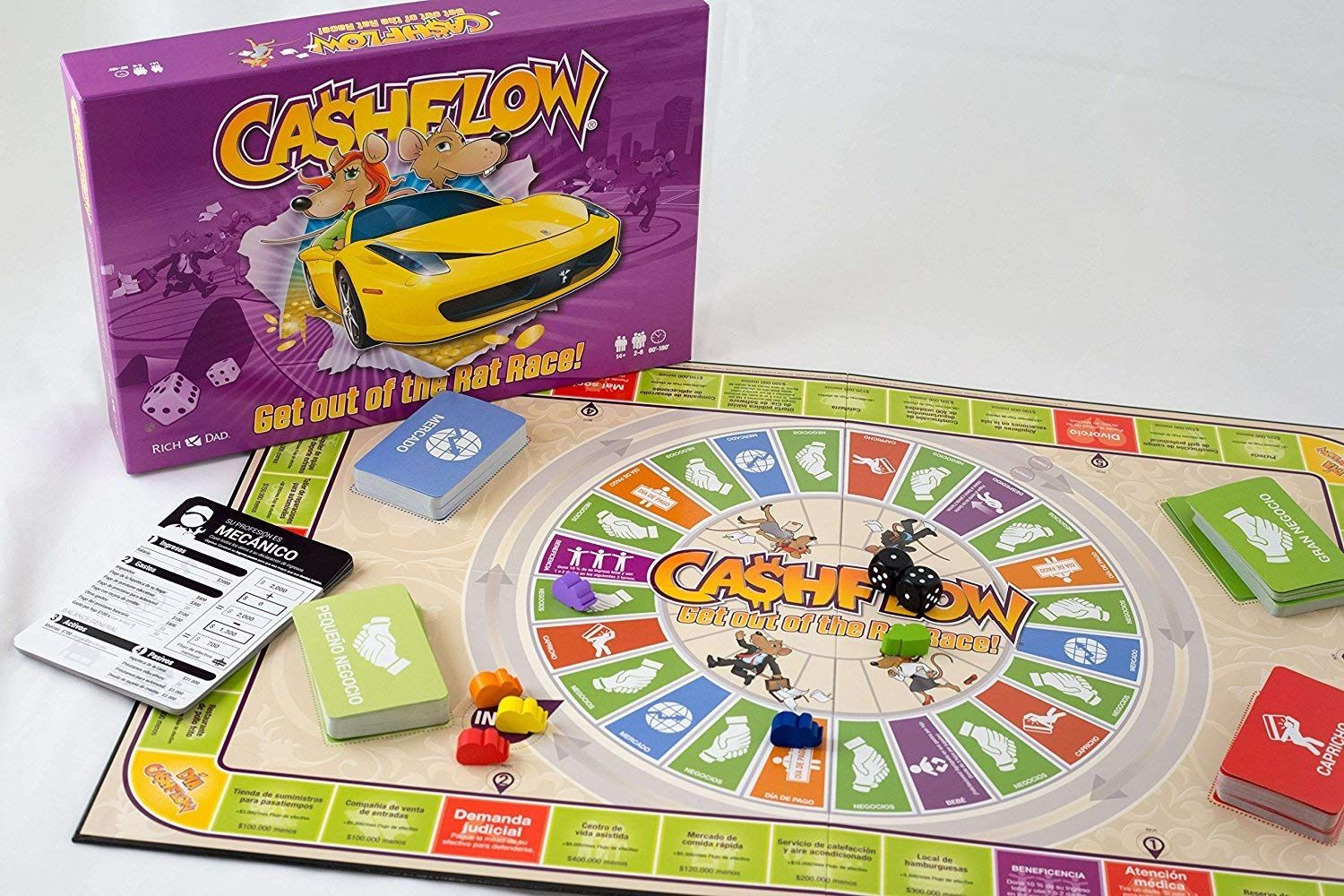 The Rich Dad Company CASHFLOW Board Game (SPANISH) with