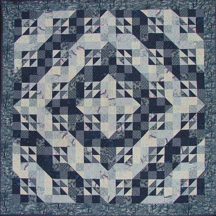 Miles To Go Before I Sleep | Easy quilts | Pinterest ... : quilt colors schemes - Adamdwight.com