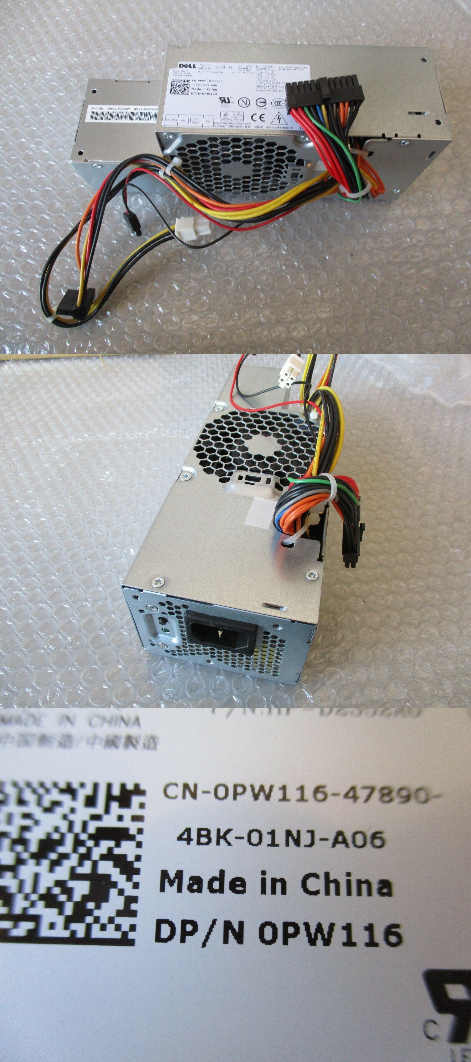 Server Power Supplies 56090: New Pw116 H235p-00 Dell