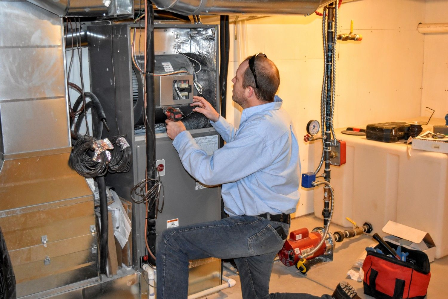 Opt Our Premium Furnace Repair Installation Air Conditioned