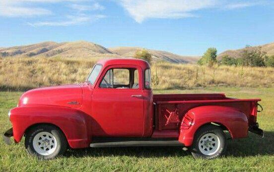 1953 Chevy 5 window truck