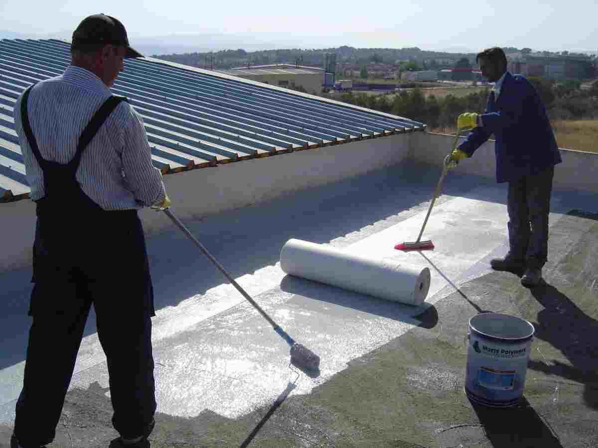 One Of The Best Waterproofing Services And Repairs Contractors At Cheap Rates Roof Waterproofing Roof Construction Flat Roof Construction