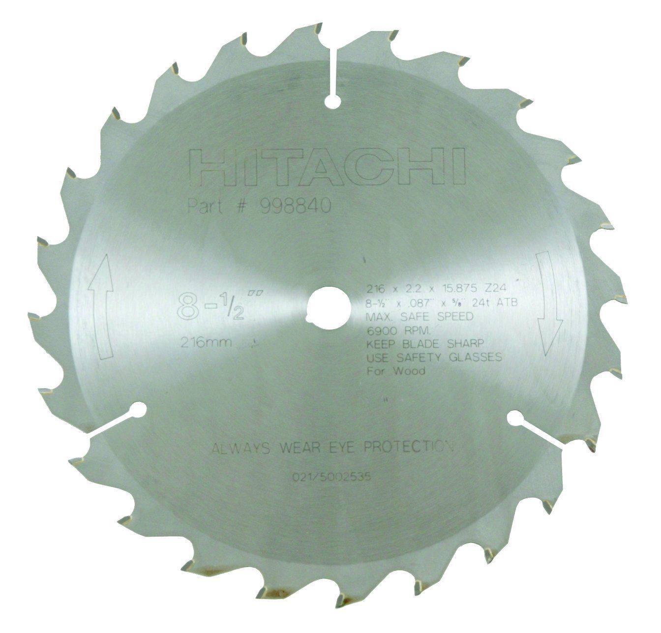 Hitachi 998840 24teeth Tungsten Carbide Tipped 81 2inch Atb 5 8inch Arbor Finish Saw Blade Find Out Extra By Going To In 2020 Circular Saw Blades Saw Blade Hitachi