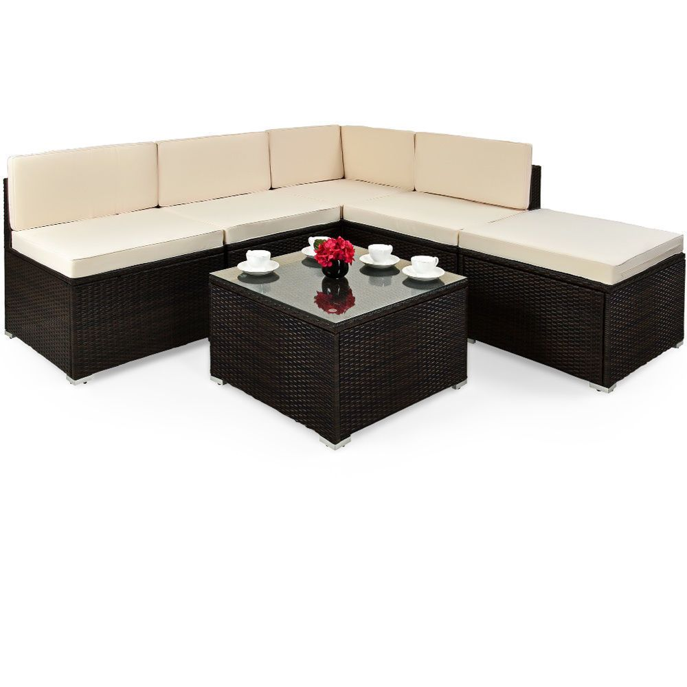 Rattan Corner Sofa Ireland Rattan Garden Furniture Set Corner Sofa Table Outdoor Patio