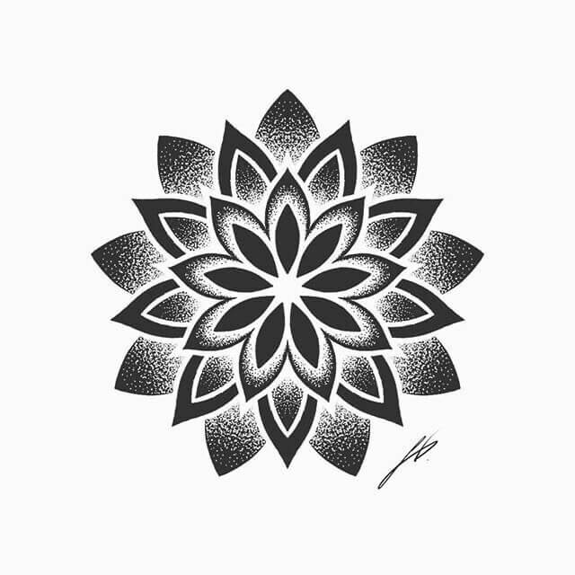 Beautiful And Delicate 30 Single Tattoo Design Ideas For Women Mandala Page In 2020 Geometric Mandala Tattoo Simple Mandala Tattoo Mandala Flower Tattoos